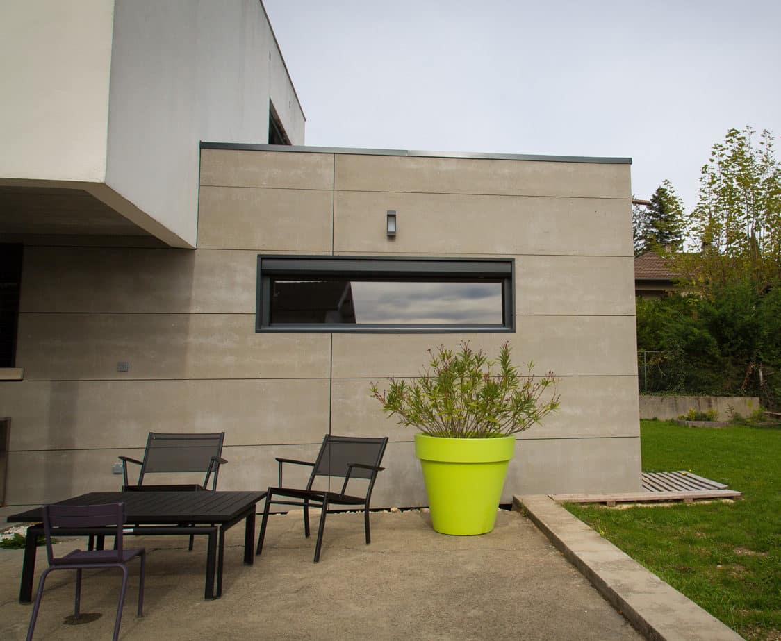 Extension maison en ossature bois Royan